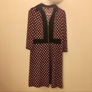 Nine West Zip Front Dress